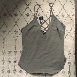 Strappy Express tank